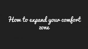 wobs comfort zone