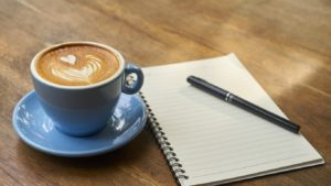 coffee and notes 16 by 9