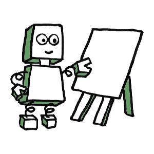 flipchart robot 300